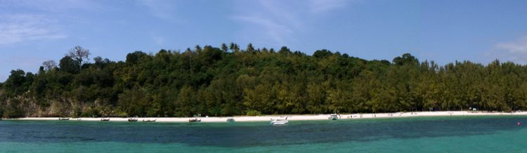 wide view Bamboo Island