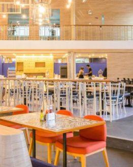 photo of reception area of Holiday Inn Express resort Krabi