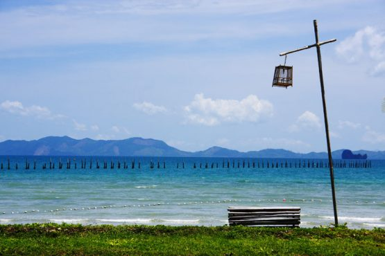 photo of the view to Koh Yao island from The Elements Resort, Khlong Muang beach Krabi