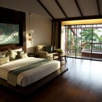 image of deluxe resort room with french windows and verandah