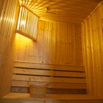 Photo of sauna steam room at resort in Krabi