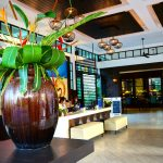 Photo of modern-Thai style resort reception