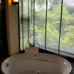 Photo of modern sink in Thai villa resort