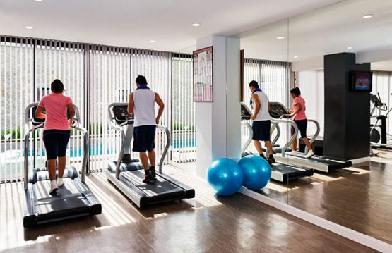 picture of fitness centre machines at Deevana Plaza Krabi resort