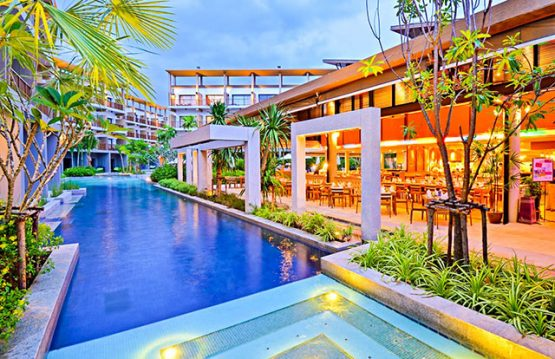 picture of modern resort pool at Deevana Plaza Krabi