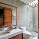 photo of modern bathroom in holiday house Ao Nang