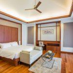 photo of large bedroom in luxury villa accommodation Krabi