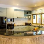 photo of the kitchen area in thai style holiday villa ao nang krabi