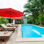 photo of villa swimming pool and deck with outdoor furniture in Ao Nang Krabi