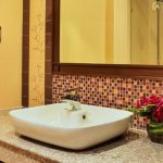 photo of bathroom hand basin in house for let Ao Nang