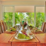 photo of dining table in 5 bedroom villa for family holidays Krabi