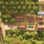 an aerial view of the grounds of chanapha residence accommodation in krabi