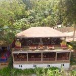 Aerial view of lae lay grill restaurant ao nang krabi