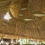 360 panosphere image inside the ruen mai restaurant krabi